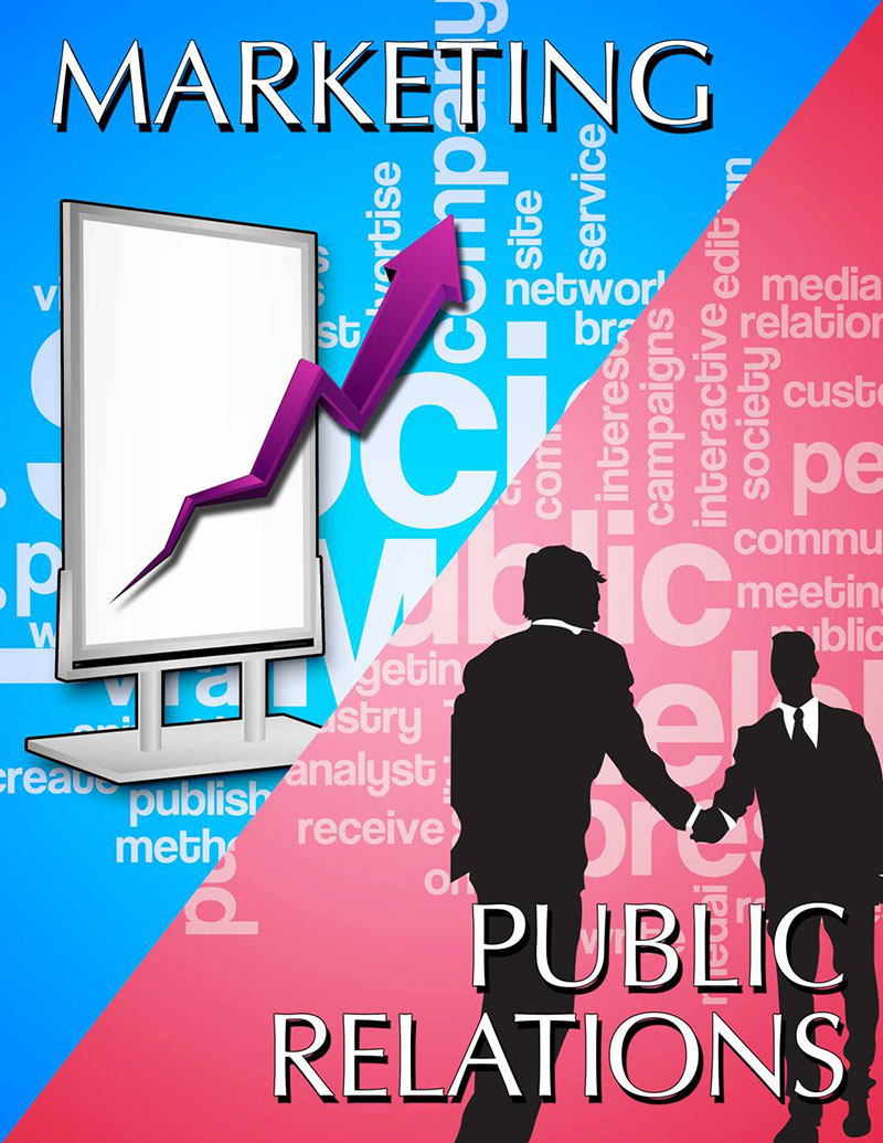 marketing public relations The marketing and public relations manager is responsible for the delivery of lead generation and public relations projects and serves as a content manager for communications.