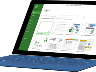 MICROSOFT PROJECT APPLICATION IN PROJECT MANAGEMENT TERBARU TAHUN 2018